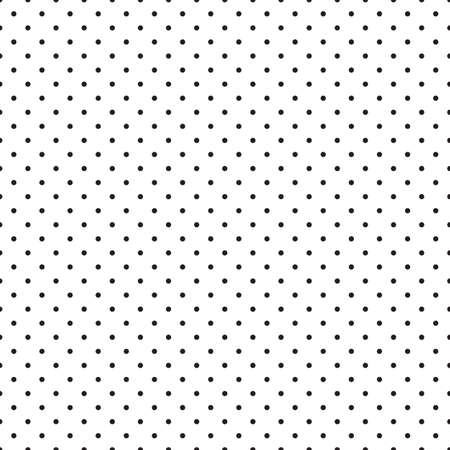 Abstract monochrome geometric pattern, seamless background. Simple black and white repeating texture with dots, circle, ball or point.