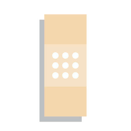 Plaster Or Band Aid Icon Medical Patch Symbol Isolated Royalty Free