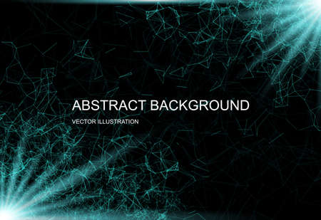 Abstract technological background. Internet connection illustration. Science and technology graphic design.