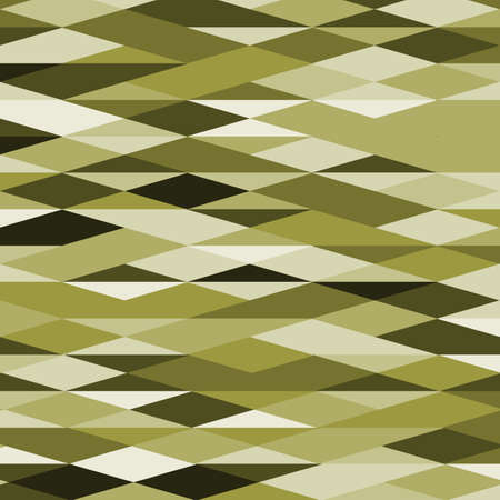 Rhombus and triangles pattern in trendy panettone colors. Abstract geometric vector background. Illustration