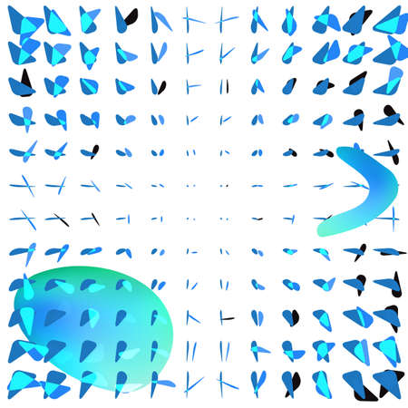 Light grey and blue triangle or triangular vector burst background for web layout. Trigon or delta fast motion explosion or blowing up pattern