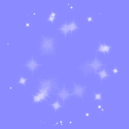 Blue star fast motion explosion, burst, bang, blast, blowing up backdrop