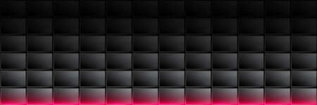 Black abstract rectangle background. Vector pattern for advertising, banner, brochure or modern web design