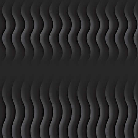 Abstract black vector background or dark texture with lines for product showcase. Digital modern template or minimal 3d grey pattern Standard-Bild - 124129730