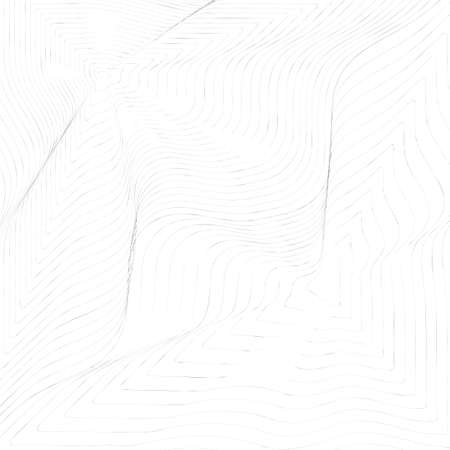 Black and white thin line abstract background. Wavy texture or simple vector pattern of wave ripple effect Standard-Bild - 124528994