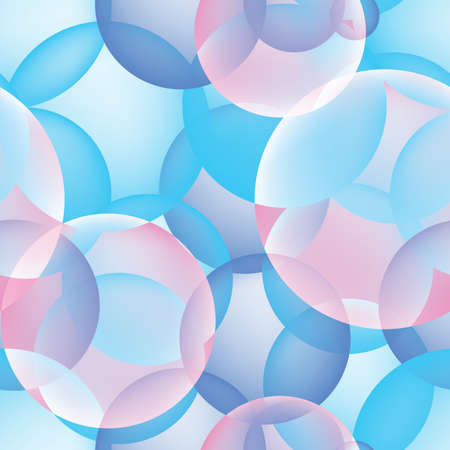 Blue 3d Vector Transparent Party Balloon Icons. Bubble Texture or Backdrop with Light Cyan or Azure Colored Balloons Background 스톡 콘텐츠