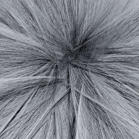 Macro 3d Illustration of Gray Fluffy Ball Texture Background or Pattern Zdjęcie Seryjne