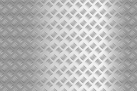 Metal flooring seamless pattern. Steel diamond plate, industry iron floor texture background. Rough stainless walkway, grid floor vector illustration Vector Illustratie
