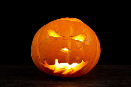 jack o latern: Halloween Pumpkin dark background