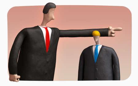 dismiss: boss dismisses employee