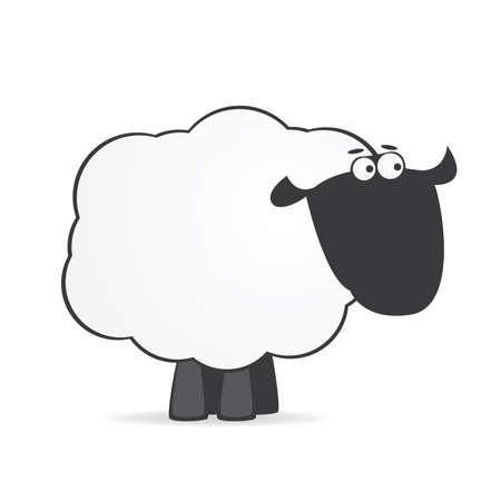 cartoon sheep Stock Vector - 6701782