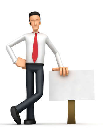 contestant: On the blank board you can add your text, etc. Stock Photo