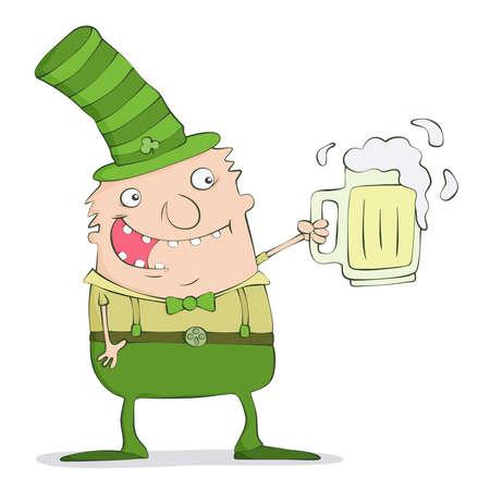 Cheerful Irish Vector