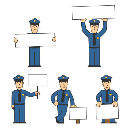Polizei Character set 02