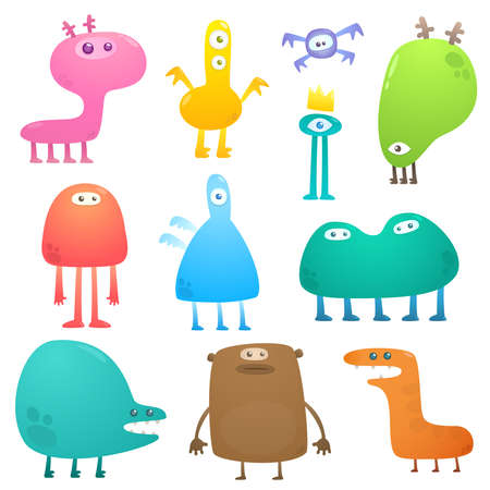 Funny monsters Stock Vector - 8563034