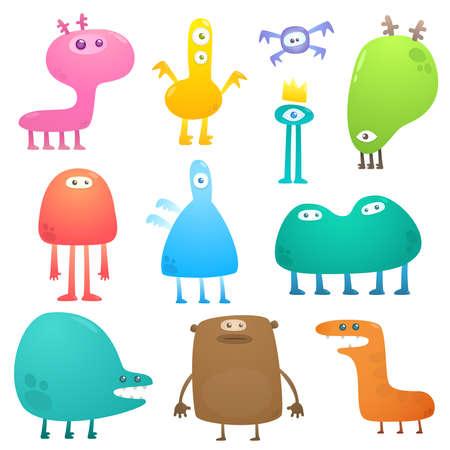 alien head: Funny monsters