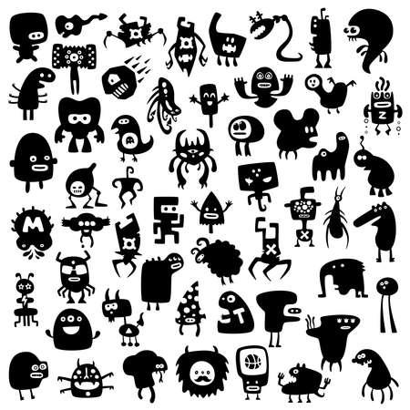 аниме: смешные монстры