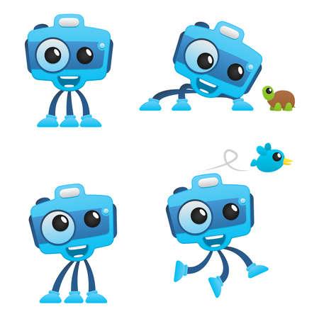 funny robot: funny camera