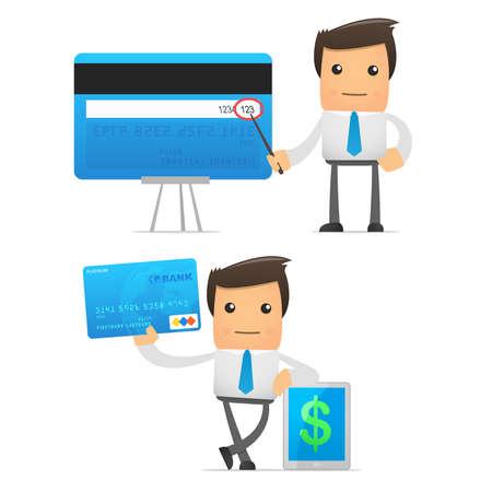 bank manager: conjunto de manager funny cartoon