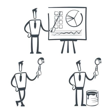 Sketch man Stock Vector - 9933993