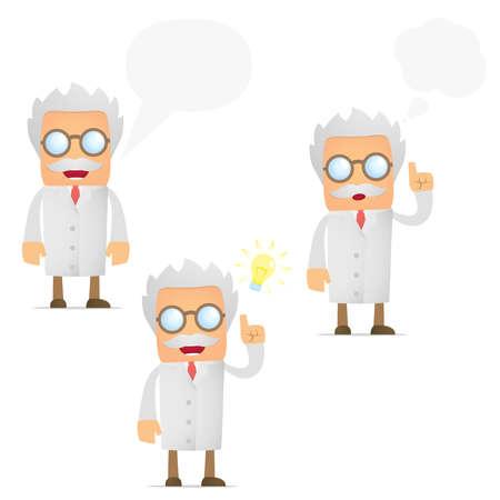 kiválóság: vicces rajzfilm tudós