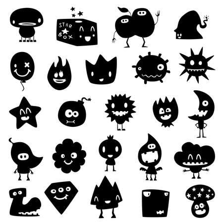 anime: divertidos monstruos