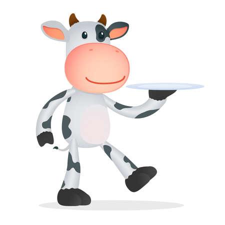 żartować: śmieszne krowa cartoon