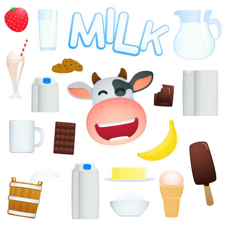 dairy product: dairy produce