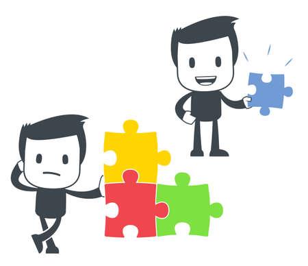 puzzle icon: Icon man