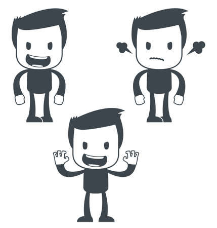 Icon man Vector