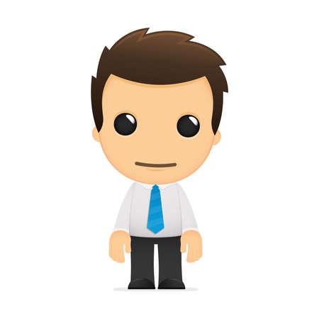 business shirts: divertida caricatura de empleado de oficina