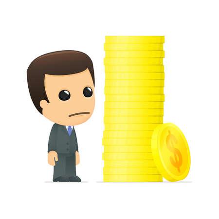 funny cartoon boss Stock Vector - 12991207
