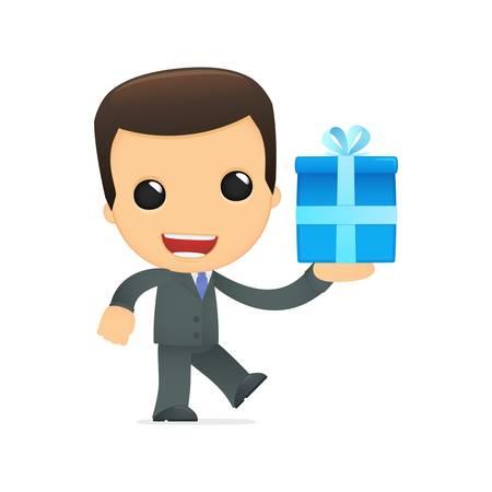office party: jefe de divertidos dibujos animados
