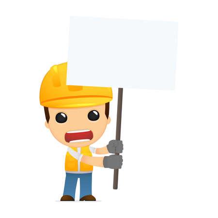cartoon builder: funny cartoon builder Illustration