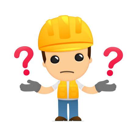 ingenieurs: grappige cartoon builder
