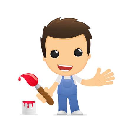 machinist: funny cartoon mechanic