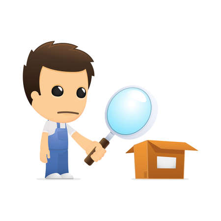 depository: funny cartoon mechanic