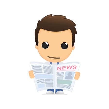 press news: funny cartoon mechanic