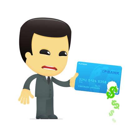 asian businessman: funny cartoon asian businessman