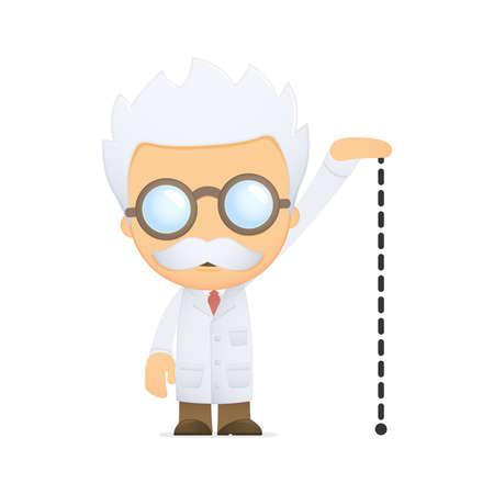 small size: cient�fico de divertidos dibujos animados