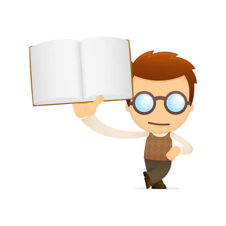reading glass: genio de la historieta divertida
