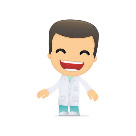 funny cartoon doctor Stock Vector - 13844971