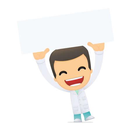 medicate: funny cartoon doctor