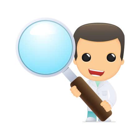funny cartoon doctor Stock Vector - 13845241
