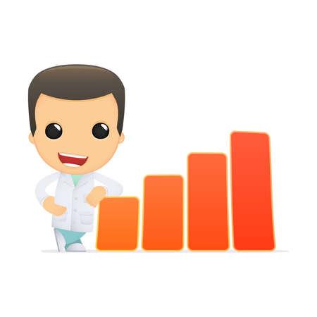 funny cartoon doctor Stock Vector - 13845262