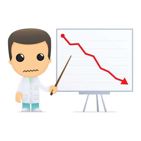 funny cartoon doctor Stock Vector - 13845148