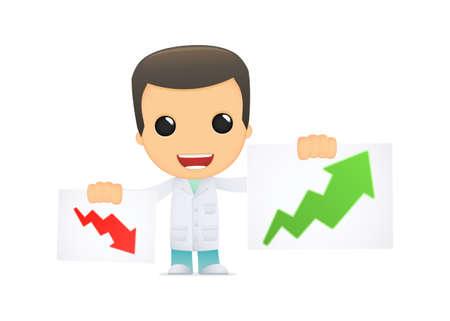 funny cartoon doctor Stock Vector - 13845144