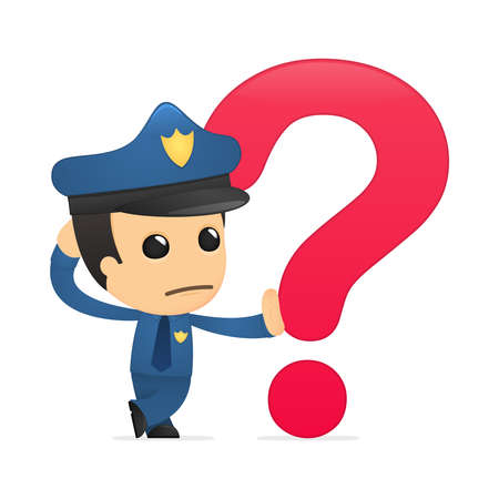 where: funny cartoon policeman
