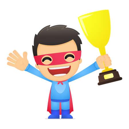 valiant: funny cartoon superhero