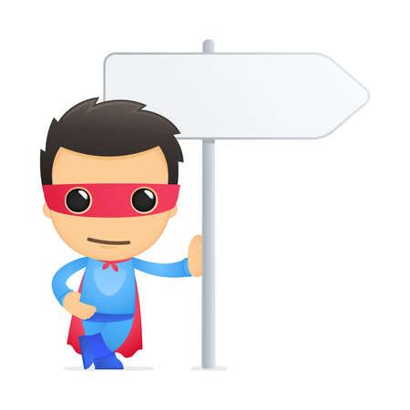 cartoon superhero: funny cartoon superhero